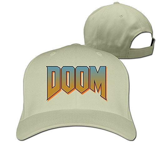 Price comparison product image Unisex Doom Logo Fitted Cap