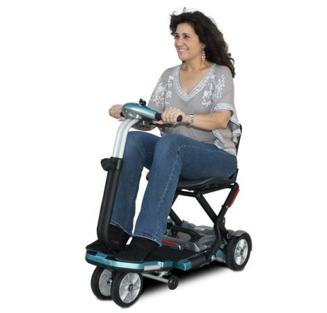 EV Rider Transport Folding Lightweight Travel Mobility Scooter Demo Model by EV Rider