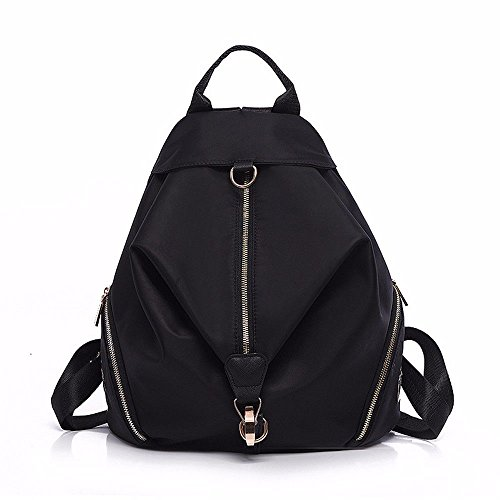 MSZYZ canvas female bag backpack female Shoulder black bag tide schoolbag rOqx4r7An