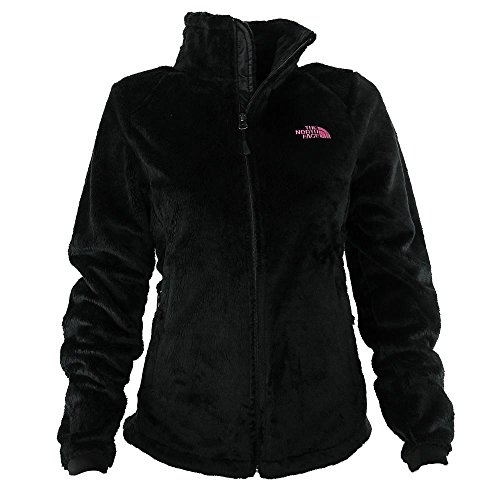 The North Face Women's PR Osito 2 Fleece Jacket, Black/Pink,