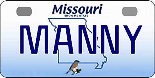 - Personalized Missouri 2008 Bicycle Replica License Plate any name