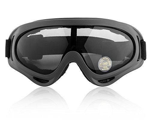 Goggles Ski, Snowboard, Skate, Cycling & Motorcycle Glasses UV Protection Tinted by Basecamp