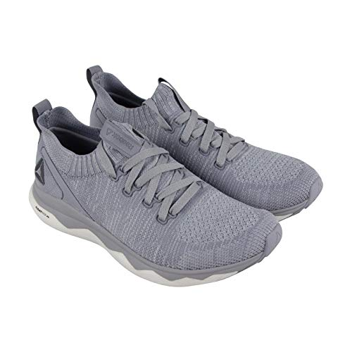a853e29e7 Reebok Floatride Rs Ultk Mens Gray Textile Athletic Lace Up Running Shoes