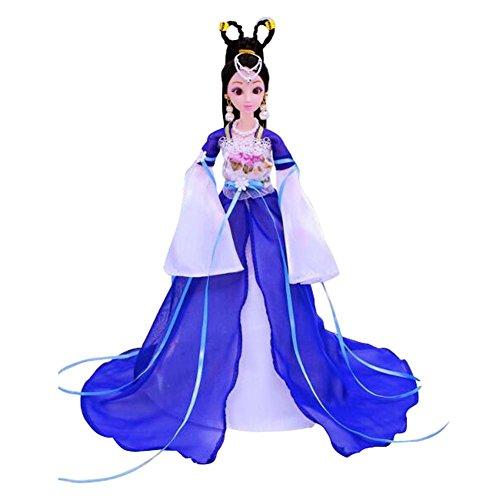 Elegante traje chino antiguo personas muñecas niñas princesa / diosa Toy-B