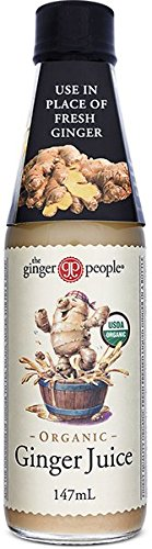 The Ginger People Organic Ginger juice 5 oz (Pack of 4) by The Ginger People