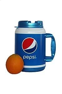 Amazon Com 64 Oz Insulated Pepsi Travel Mug Home Amp Kitchen