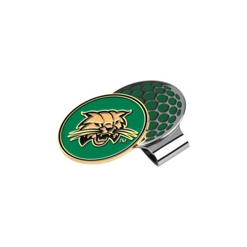 - LinksWalker NCAA Ohio Bobcats Golf Hat Clip with Ball Marker, One Size