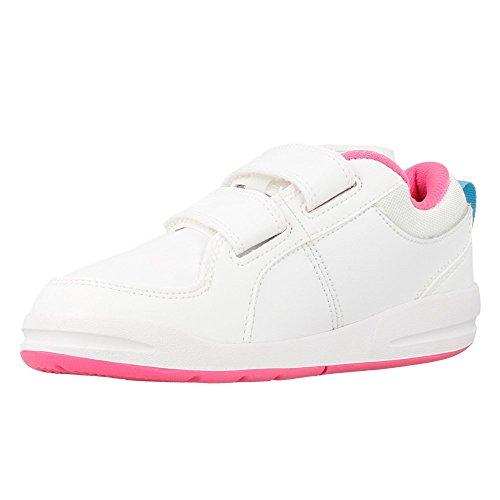 Nike - Pico 4 Psv - Couleur: Blanc-Rose - Pointure: 31.5