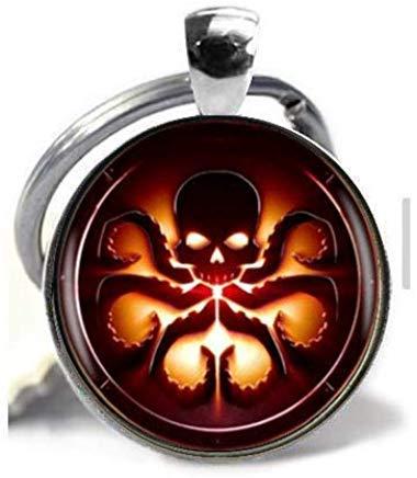 Cthulhu Hydra collar con colgante, hecho a mano, vintage ...