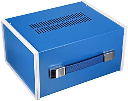 uxcell D74mm x H45mm Dustproof IP44 Junction Box Universal Electric Term Enclosure