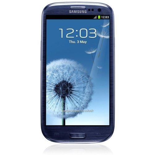 Samsung Galaxy S III i9300 Smartphone (4,8 Zoll (12,2 cm) Touch-Display, 16 GB Speicher, Android 4.0) pebble-blue (Zertifiziert und Generalüberholt)