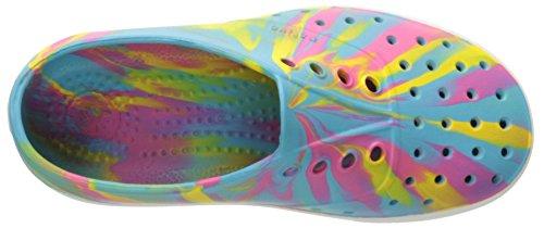 Native  Miller Child - K, Jungen Sneaker Surfer Blue/Shell White/Marbled 31 EU Surfer Blue/Shell White/Marbled