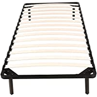 Bed Frames / Wooden Slats Support / Mattress Foundation / Platform Bed Frame / Box Spring Replacements (Twin Size)