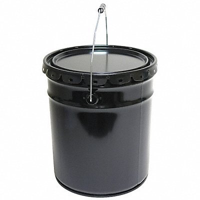 GRAINGER APPROVED Pail Open Head Round 5 gal Steel ()