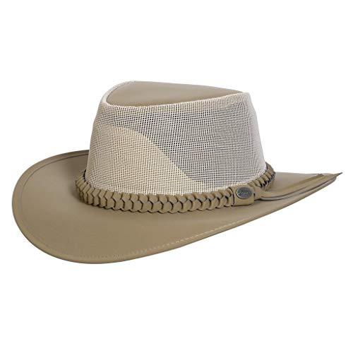 - Aussi Golf Soakable Mesh Hat Khaki - Large