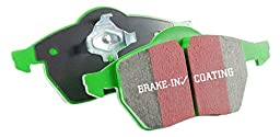 EBC Brakes DP61798 6000 Series Greenstuff Truck and SUV Brake Pad