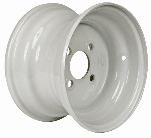 Martin Wheel 4-Hole Steel Trailer Wheel (10x6