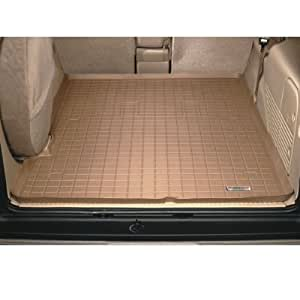 Cargo Liner for Toyota 4Runner 2010 2011/Behind 2nd Row;Does Not Fit models equipped with optional Sliding Rear Cargo Deck and Under-Floor Storage Box. /Tan