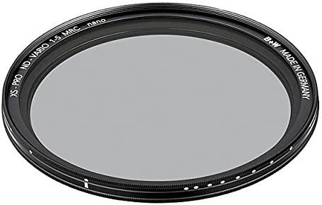 B+W 55mm XS-Pro Digital Vario ND with Multi-Resistant Nano Coating