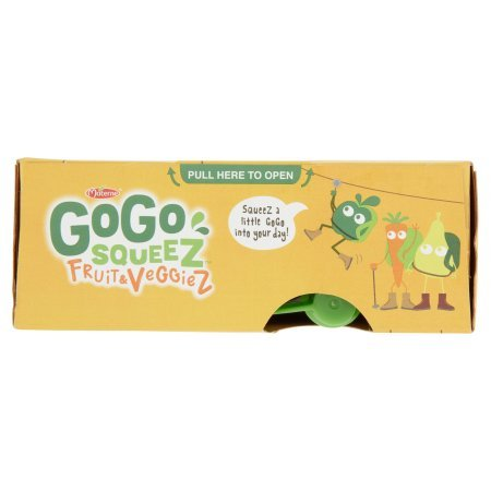PACK OF 12 - GoGo Squeez Fruit & Veggiez On The Go Apple Pear Carrot - 4 CT by Materne (Image #6)