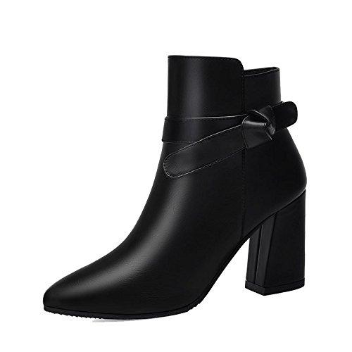 De En Otoño Moda Zapatos Botas Las Salvajes 38 37 Tacones Y Botas Mujer De Negrita Invierno Mujer Zapatos Botas Nuevas Martin De Con Nuevas AJUNR vwnz4HAxqq