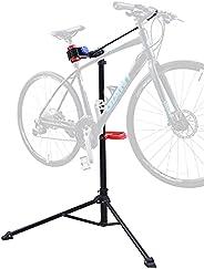 Sportneer Bike Repair Stand, Foldable and Height Adjustable Bicycle Repair Rack Workstands for Road Bike and M