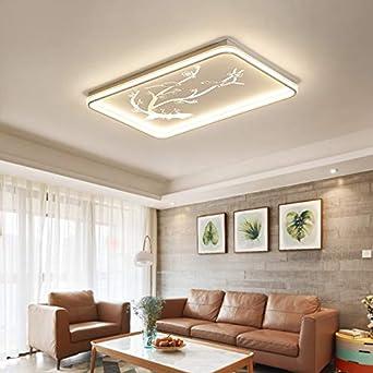 5151BuyWorld Lámpara Techo Llevó Luces Modernas Para Home Living ...