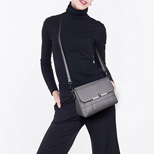 Cuero Hombro Bolsas Pequeña Mochila Nueva Bolsa 2018 De Coreana Versión Madre Zq Suave Lady La Old Mensajero 55vrq