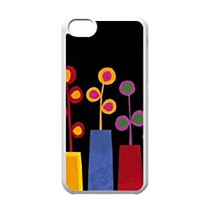 Summer Vases iPhone 5c Cell Phone Case White phone component RT_210520