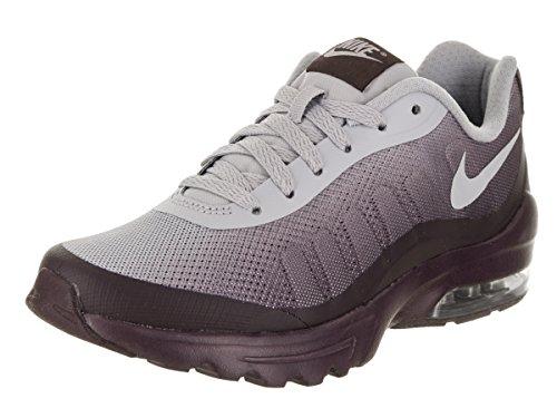 NIKE Women's Air Max Invigor Print Port/Wine/Wolf/Grey Running Shoe 6 Women US