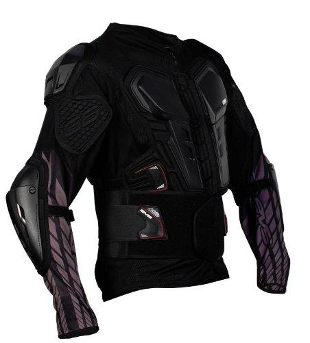Evs Body Armor - EVS G6 Ballistic Jersey , Distinct Name: Black, Size: 4XL, Primary Color: Black, Gender: Mens/Unisex G6BK-XXXXL