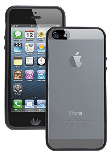 caseit CSIP5WBKI Etui avec Fenêtre pour iPhone 5 Noir/Transparent
