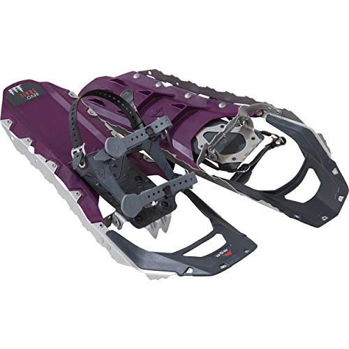 MSR Revo Trail Women's Hiking Snowshoes, 22 Inch Pair, Black Violet