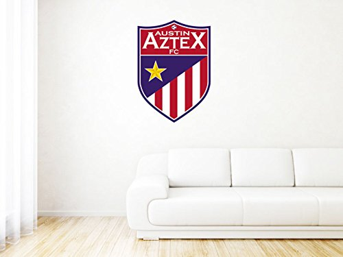 Austin Aztex FC - United States - High Quality Wall Graphic Decal - 26