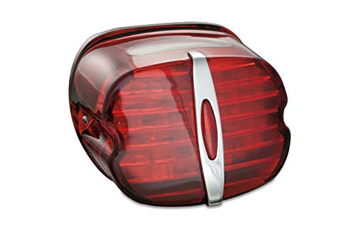 Kuryakyn 5462 Deluxe ECE Red LED Taillight with License ()
