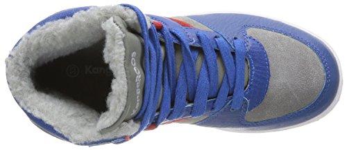 Kangaroos Kanga Stuu 2013 - Zapatillas de Baloncesto de otras pieles niño azul - Bleu (Royal Blue/Mid Grey 423)