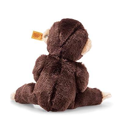 Steiff Little Friend Koko Monkey Plush, Dark Brown: Toys & Games