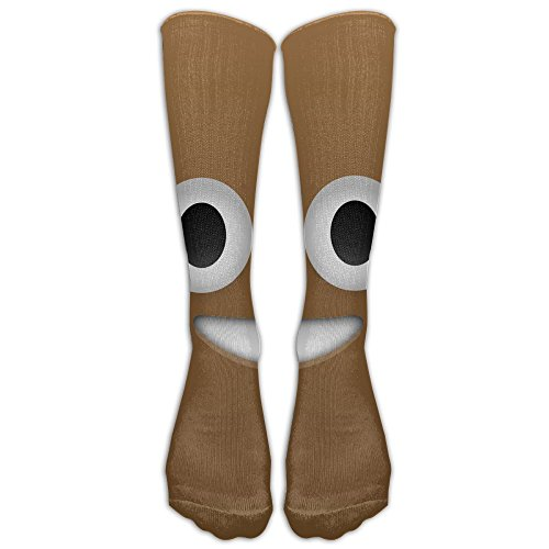 Poop Emoji Fashion, Stylish, Comfortable, Soft Stockings For Girls And Women, Easy To Clean