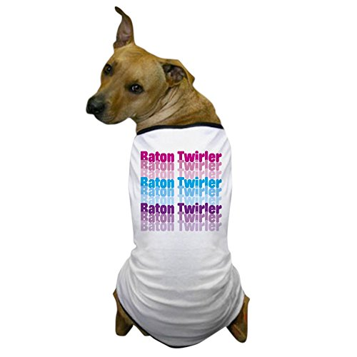 Custom Baton Costumes (CafePress - Baton Twirler Dog T-Shirt - Dog T-Shirt, Pet Clothing, Funny Dog Costume)