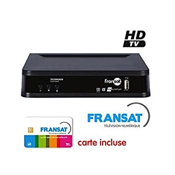Techwood Fransat HD decodificador Satellite + Tarjeta ...