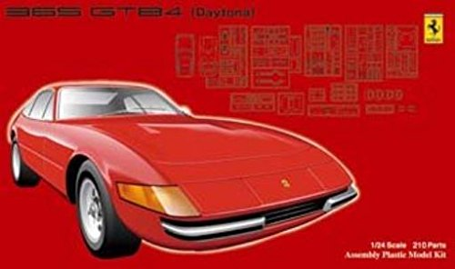 1 / 24フェラーリ365 gt4 gtb4 40周年モデルキットRacing Car Race Sport Vehicle B007GCTEF2