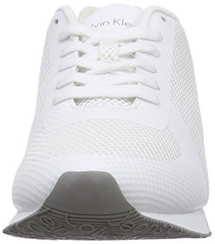 Corsa Calvin Scarpe Uomo Jeans Bianco da Wht Klein Jack Bianco vqXWFwRX