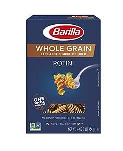 Barilla Whole Grain Pasta, Rotini, 16 oz