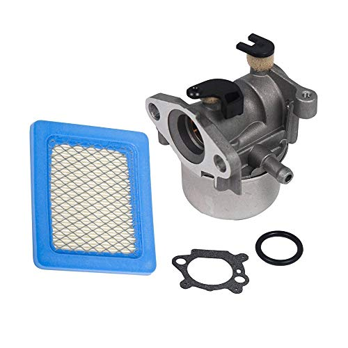 Replace Carburetor with Air Filter for Briggs & Stratton 790845 799871 799866 796707 794304 Engine 4 Cycle Lawn - Briggs Carburetor Lawn Stratton Mower
