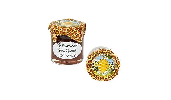Lote de 15 Tarros de Cristal de Miel con Adhesivo