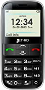 Jethro [SC628] 3G Unlocked Senior & Kids Cell Phone, Easy to Use, SOS Button, Large Display & keypad, M4/T4 Hearing Aid Compatible