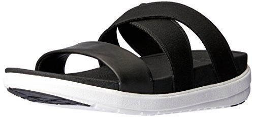 FitFlop Sandales à carreaux Loosh pour femmes - Noir