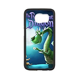 Samsung Galaxy S6 Cell Phone Case Covers White Reluctant Dragon H2753244