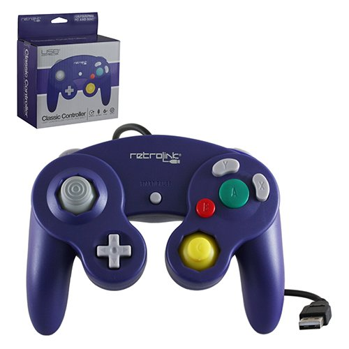 Retro Link GameCube Style USB Wired Controller