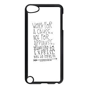 Unique Live Quotes Ipod Touch 5th Generation Case Hard Plastic Ipod Touch 5 Case